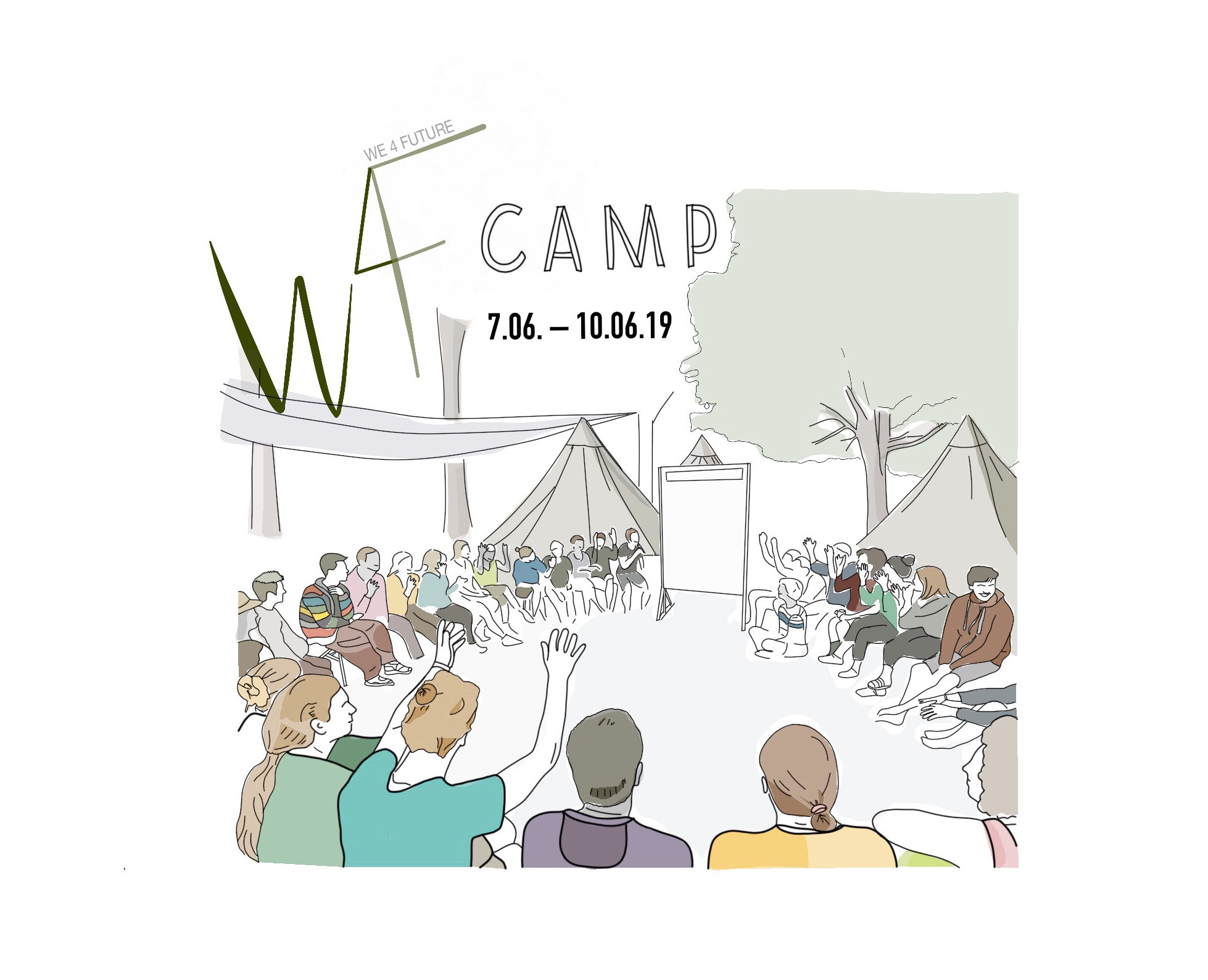 Erstes We4Future-Camp vom 07.-10.06.2019