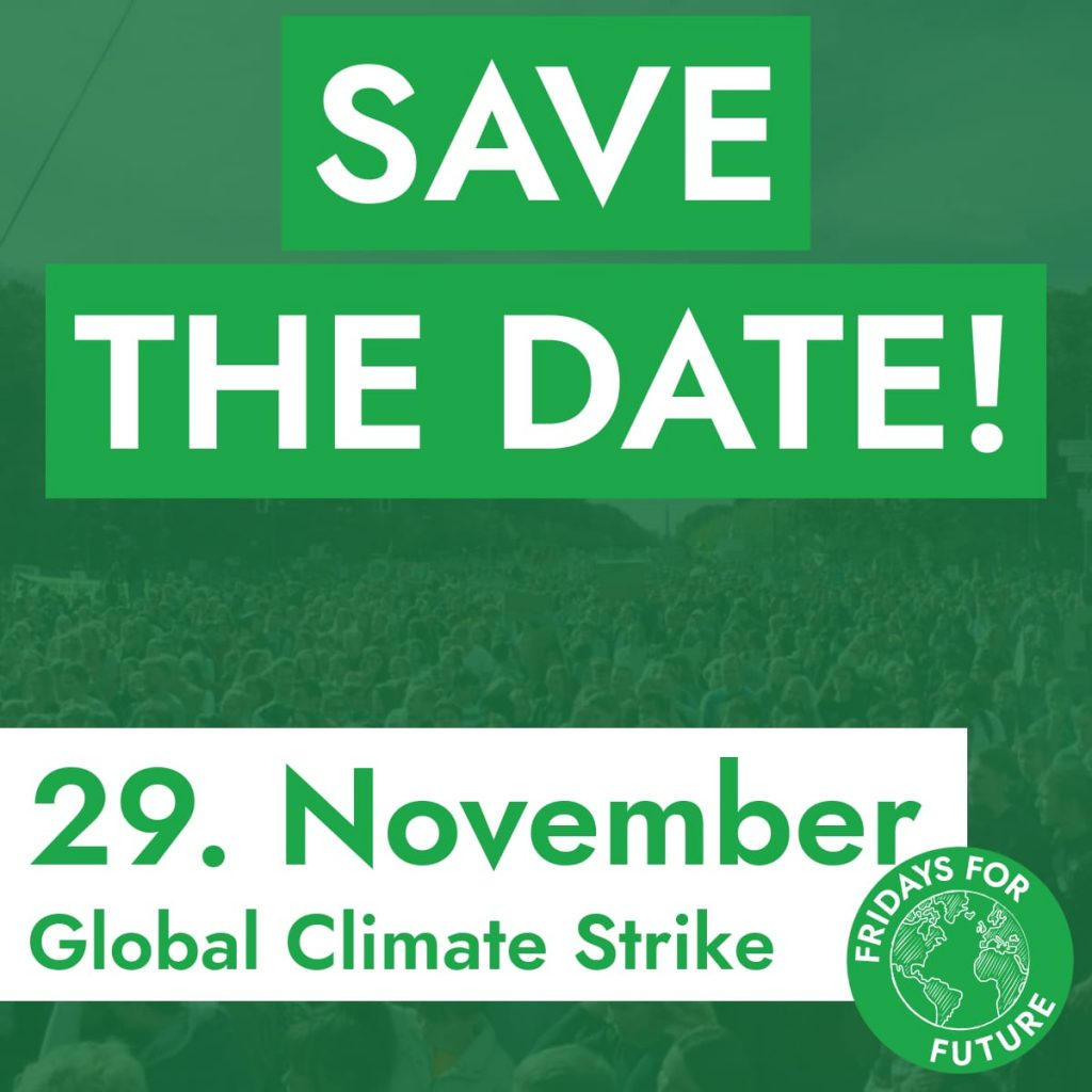 Global Climate Strike 29 11 2019